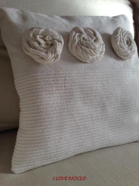 Cuscino delle tre rose