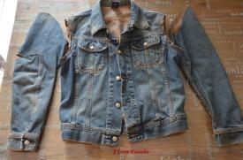 copribottiglia jeans